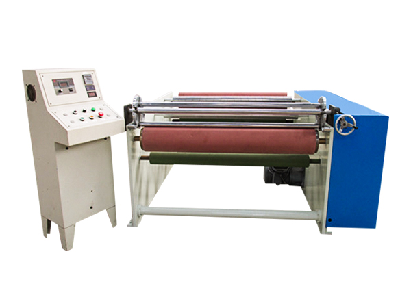 GL-808 PVC electrical jumbo roll film rewinding machine
