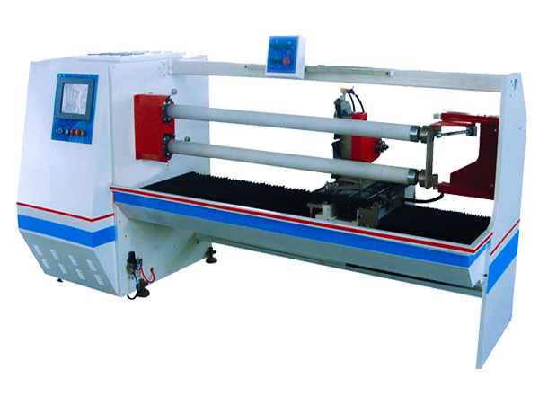 GL-702 Double-shaft Auto Roll Cutting Machine
