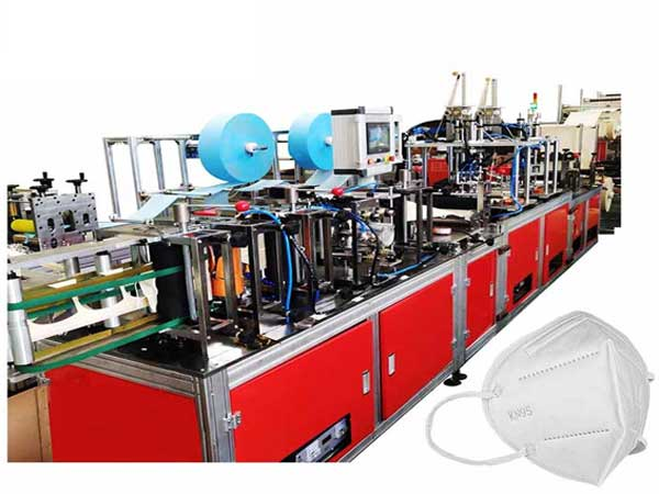 Auto kn95 ultrasonic face mask making machine