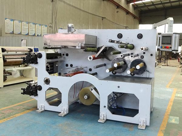 BOPP jumbo roll printing and slitting machine